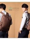 เฉพาะทางไลน์ ลดเหลือ 1400 Kling/EXIT Premium Back pack(กระเป๋าเป้ สะพายหลัง) BA048 สีน้ำตาล พร้อมส่ง