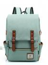 Back pack(กระเป๋าเป้ สะพายหลัง) BA045 สีเขียวอ่อน พร้อมส่ง