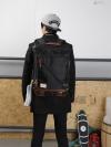 Y-MASTER STORM Back pack(กระเป๋าเป้ สะพายหลัง) BA016 สีดำ พร้อมส่ง