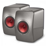 KEF LS50 Wireless (Titanium Grey/Red)