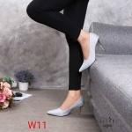 รองเท้าคัทชู ส้นสูง หนังกลิสเตอร์สวยเรียบหรู ทรงสวย หนังนิ่ม ส้นสูงประมาณ 3 นิ้ว ใส่สบาย แมทสวยได้ทุกชุด (G5280)