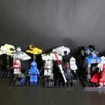 Review เลโก้จีน Decool 901-909 Starwars ทหารClone