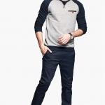 พรีออเดอร์ กางเกงกันหนาวแฟชั่นอเมริกา และยุโรปสไตล์ สำหรับผู้ชาย เนื้อผ้าหนา ขายาว - Preorder Men American and European Hitz Style Long Casual Winter Pants