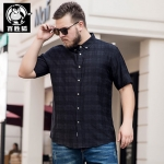 พรีออเดอร์ เสื้อยืด 3 XL - 8 XL อกใหญ่สุด 59.05 นิ้ว แฟชั่นเกาหลีสำหรับผู้ชายไซส์ใหญ่ แขนสั้น เก๋ เท่ห์ - Preorder Large Size Men Korean Hitz Short-sleeved T-Shirt