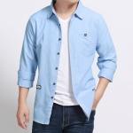 พรีออเดอร์ เสื้อเชิ้ต แขนยาว 2XL - 7XL อกใหญ่สุด 57.08 นิ้ว แฟชั่นเกาหลีสำหรับผู้ชายไซส์ใหญ่ แขนสั้น เก๋ เท่ห์ - Preorder Large Size Men Korean Hitz Short-sleeved T-Shirt