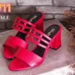 รองเท้าแฟชั่น ส้นสูง ดีไซน์สวยเก๋ แบบสวม คาด 2 ตอน ใส่สบาย ส้นตัดสูงประมาณ 2.5 นิ้ว แมทสวยได้ทุกชุด