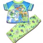 ชุดนอน สีฟ้า-เขียว ลาย Toy Story กับไดโนเสาร์ 2T