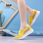 รองเท้าผ้าใบแฟชั่นน่ารักๆ เสริมส้น หนัง PU ผสมผ้าใบอย่างดี แต่ง Z ด้านบน เก๋ๆ ด้วยซีทรูรอบด้าน ระบายอากาศได้ดี งานคุณภาพเน้นๆ สวมใส่กระชับเท้า สวยมาก แมทเก๋มีสไตล์ สีชมพู ฟ้า ม่วง เหลือง สูงหน้า 2 ซม. ส้นสูง 3.5 ซม.