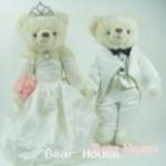 ตุ๊กตาหมีคู่รัก ขนาด 0.36 เมตร (แบบที่ 7)