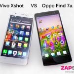 Oppo find7a vs vivo xshot 2เทพดีเสียต่างกัน