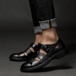 พรีออเดอร์ รองเท้า เบอร์ 35- 48 แฟชั่นเกาหลีสำหรับผู้ชายไซส์ใหญ่ เก๋ เท่ห์ - Preorder Large Size Men Korean Hitz Sandal