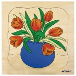 GROWTH PUZZLES TULIP - ภาพต่อ การเจริญเติบโตของดอกทิวลิป