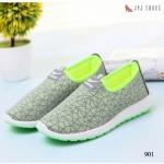 รองเท้าผ้าใบ Sport Nike Style แบบไร้เชือก รุ่น hot hit ลายกราฟฟิคสวยเก๋ ด้านในบุนุ่ม เสริมพื้น 1 นิ้ว ใส่สบายเพื่อสุขภาพเท้า พื้นยางกันลื่นอย่างดี จะ ใส่ออกกำลังกาย หรือใส่ชิว สวยทุกสเต็ป