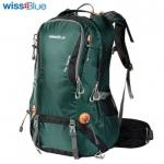 Super quality wissblue hiking backpack 40/50 ลิตร