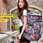 กระเป๋าเป้แฟชั่น MUZMM Flower edition