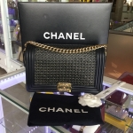 CHANEL le boy bag woven limited edition spring 2014
