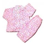 ชุดนอนใหม่ Hong Kong สีชมพู ลาย Hello Kitty กับหัวใจ 8T