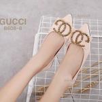 รองเท้าคัทชู ส้นแบน แต่งอะไหล่สวยหรูสไตล์กุชชี่ ทรงสวย หนังนิ่ม ใส่สบาย แมทสวยได้ทุกชุด (B608-8)