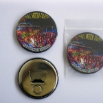 Koh Phangan Full Moon Party 58 mm Fridge Magnet