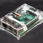 RPI3 Box case shell generation B+ /Pi 2/Pi 3 acrylic shell latest box + 2 heat sinks