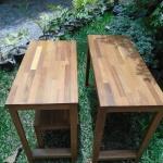 ชุดโต๊ะทำงานไม้ประสาน