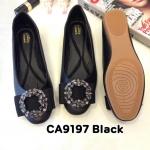 รองเท้าคัทชู ส้นแบน แต่งอะไหล่สวยหรู ทรงสวย หนังนิ่ม ใส่สบาย แมทสวยได้ทุกชุด (CA9197)