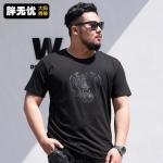 พรีออเดอร์ เสื้อยืด XL - 8 XL อกใหญ่สุด 59.84 นิ้ว แฟชั่นเกาหลีสำหรับผู้ชายไซส์ใหญ่ แขนสั้น เก๋ เท่ห์ - Preorder Large Size Men Korean Hitz Short-sleeved T-Shirt