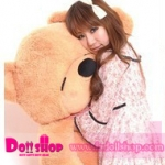 ตุ๊กตาหมี light brown 1.8 เมตร