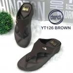 รองเท้าแตะแฟชั่น เพื่อสุขภาพ แบบหนีบ แต่งอะไหล่จรเข้เรียบเก๋สไตล์แบรนด์ พื้นโซฟานิ่ม ใส่สบาย แมทสวยได้ทุกชุด (YT126)