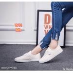 รองเท้าผ้าใบแฟชั่น เรียบเก๋ ผูกเชือกหน้า ใส่สบาย ทรงสวยกระชับเท้า ใส่เที่ยว ออกกำลัง กาย แมทสวยได้ทุกชุด (G8169)