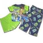 ชุดเด็ก สีเขียว-น้ำเงิน ลาย Toys Story 8T