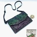 กระเป๋าแฟชั่น สะพายข้าง สไตล์ Bao Bao หนังแมทด้าน รุ่นเปลี่ยนสี สวยอินเทรนด์ ซัปในอย่าวดี ขนาด 10 นิ้ว