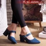 รองเท้าคัทชู เปิดส้น สวยเก๋ แต่งเข็มขัดด้านข้าง หนังนิ่มอย่างดี ทรงสวย พื้นนิ่ม ใส่สบาย ส้นตัดสูงประมาณ 2.5 นิ้ว ใส่ง่าย แมทสวยได้ทุกชุด