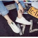 รองเท้าผ้าใบแฟชั่น ดีไซน์เรียบเก๋เท่ห์ วัสดุอย่างดี ทรงสวย ใส่สบาย ใส่เที่ยว ออกกำลังกาย แมทสวยเท่ห์ได้ทุกชุด