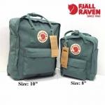 กระเป๋าเป้แฟชั่น สไตล์ kanken วัสดุเกรดพรีเมียม สวยเท่ห์ ฮิตตลอดกาล size 8 นิ้ว 11 นิ้ว ( โดยประมาณ )