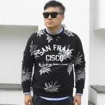 พรีออเดอร์ เสื้อไหมพรมกันหนาว แฟชั่นเกาหลีสำหรับผู้ชายไซส์ใหญ่ แขนยาว เก๋ เท่ห์ - Preorder Large Size Men Korean Hitz Long-sleeved Sweater