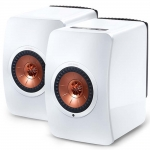 KEF LS50 Wireless (Gloss White/ Copper)