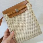 [SOLDOUT]Used : Hermes Herbag mini Crossbody bag