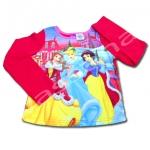 เสื้อแขนยาว สีชมพู ลาย Princess 14T