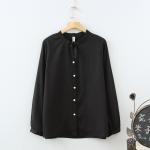 [พรีออเดอร์] เสื้้อแฟชั่นเกาหลีใหม่ อก 48.03 นิ้ว แขนยาว สำหรับผู้หญิงไซส์ใหญ่ - [Preorder] New Korean Fashion Shirt Long-Sleeved for Large Size Woman