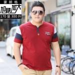 พรีออเดอร์ เสื้อเชิ้ต แขนสั้น 2XL - 7XL อกใหญ่สุด 57.48 นิ้ว แฟชั่นเกาหลีสำหรับผู้ชายไซส์ใหญ่ แขนสั้น เก๋ เท่ห์ - Preorder Large Size Men Korean Hitz Short-sleeved T-Shirt