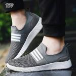 รองเท้าผ้าใบแฟชั่น สไตล์ equalizer shoes เติมเต็มลุคสุดเท่ห์ ผลิตจากวัสดุผ้าทอน้ำหนักเบา ทรงกระชับเข้ารูปเท้า พื้นยางคุณภาพดี พร้อมรับรองแรงกระแทกได้เป็นอย่างดี ทั้งยังมาพร้อมดีไซน์เรียบง่ายพร้อมให้คุณจับคู่ได้กับหลากหลายชุด สีดำ เทา สูงหน้า 1.5 ซม. ส้นสู