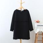 [พรีออเดอร์] เสื้้อแฟชั่นเกาหลีใหม่ อก 49.60 นิ้ว แขนยาว สำหรับผู้หญิงไซส์ใหญ่ - [Preorder] New Korean Fashion Shirt Long-Sleeved for Large Size Woman