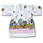เสื้อจิมเบอิ สีขาว ลาย Mickey Mouse S100
