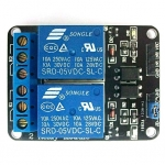 2 Channel 5V Relay Module high-current relay DC30V 10A or AC250V 10A