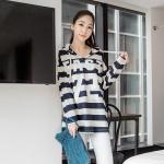 [พรีออเดอร์] เสื้้อเดรสกันหนาวพร้อมฮู๊ด แฟชั่นเกาหลีใหม่ สำหรับผู้หญิงไซส์ใหญ่ - [Preorder] New Korean Fashion Jacket Dress for Large Size Woman