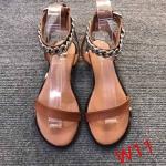 รองเท้าแตะแฟชั่น รัดข้อ แต่งโซ่สวยเก๋สไตล์แบรนด์ ทรงสวย ใส่สบาย แมทสวยได้ทุกชุด (SP618)