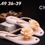 รองเท้าแตะแฟชั่น แบบหนีบ แต่งดอกไม้ติดอะไหล่ CC สไตล์ชาแนลสวยหรู วัสดุอย่างดี ใส่สบาย แมทสวยได้ทุกชุด