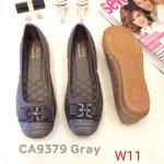 รองเท้าคัทชุู ส้นแบน หนังปักลายแต่งอะไหล่สวยเก๋ ทรงสวย หนังนิ่ม ใส่สบาย แมทสวยได้ทุกชุด (CA9379)