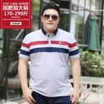 พรีออเดอร์ เสื้อยืด 2XL - 7 XL อกใหญ่สุด 57.48 นิ้ว แฟชั่นเกาหลีสำหรับผู้ชายไซส์ใหญ่ แขนสั้น เก๋ เท่ห์ - Preorder Large Size Men Korean Hitz Short-sleeved T-Shirt